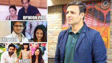 Vivek Oberoi Shares Distasteful Exit Poll Meme Including Aishwarya Rai, Abhishek Bachchan, Aaradhya, Salman Khan And It's Wrong At All Levels!