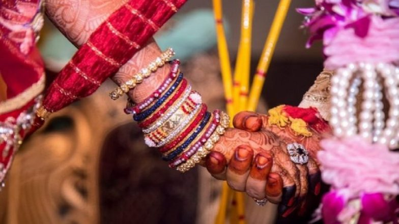 Bihar: Man Caught And Thrashed by First Wife Moments Before His Fourth Marriage in Araria