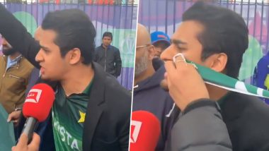 From 'Kal Raat Ye Log Burger, Pizza Kha Rahe The' to Sarfaraz's Yawn, Pakistani Fans Trolls Their Own Team After Humiliating Defeat by India in ICC Cwc 2019! Watch Viral Videos