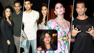 Parth, Erica, KSG, Krystle, Anita and Others Attend Star-Studded Birthday Celebrations of Ekta Kapoor (View Pics)