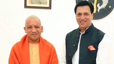 Filmmaker Madhur Bhandarkar Shares a Pic With Uttar Pradesh CM Yogi Adityanath on His 47th Birthday
