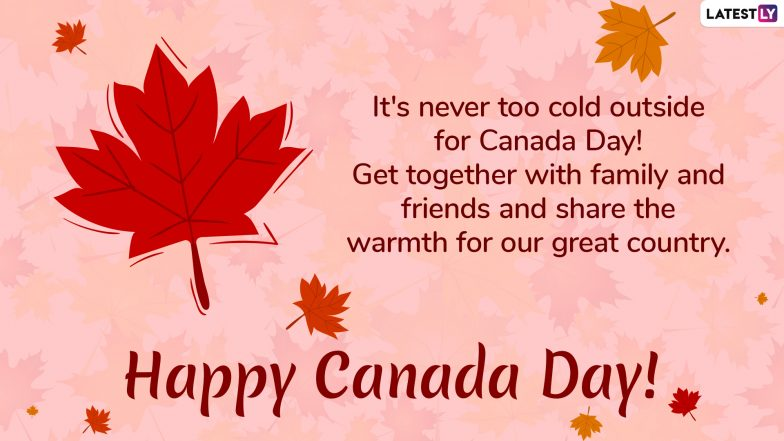 Canada Day 2019 Wishes: WhatsApp Stickers, Quotes, GIF Image