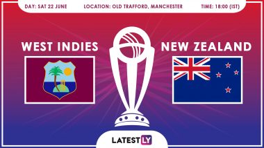 West Indies vs New Zealand, ICC Cricket World Cup 2019 Match Preview: WI In Must-Win Tie Against In-Form NZ