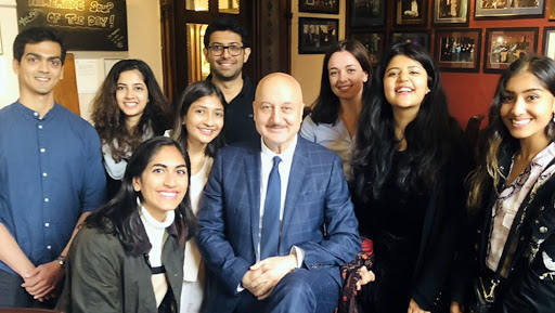 Anupam Kher Shares His Insights on Cinema at England's Oxford Union