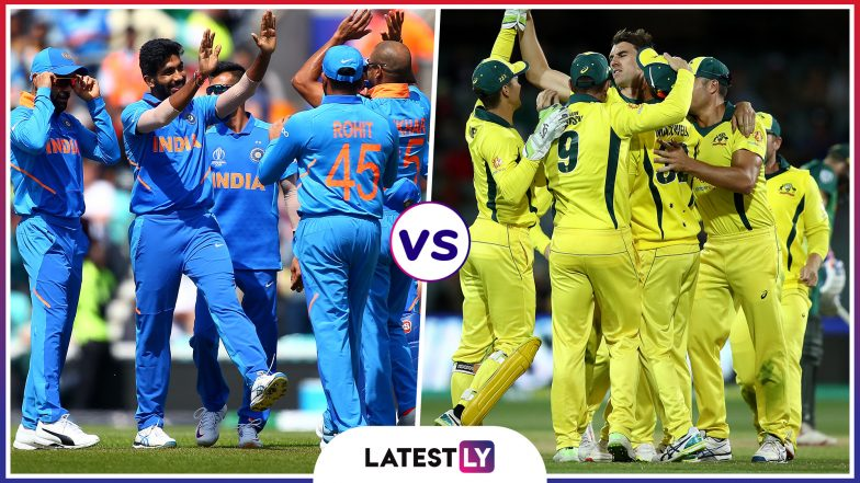 IND vs AUS Head to Head Record: Ahead of ICC Cricket World Cup 2019 Clash, Here Are Match Results of Last 5 India vs Australia Encounters!