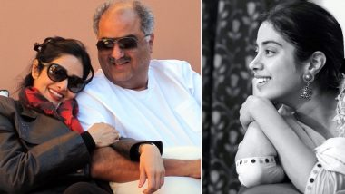 Janhvi Kapoor Shares a Rare Pic of Parents Sridevi-Boney Kapoor and Fans Are All Hearts for It!