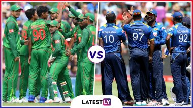 Bangladesh vs Sri Lanka Head to Head Record: Ahead of ICC Cricket World Cup 2019 Clash, Here Are Match Results of Last 5 BAN vs SL Encounters!