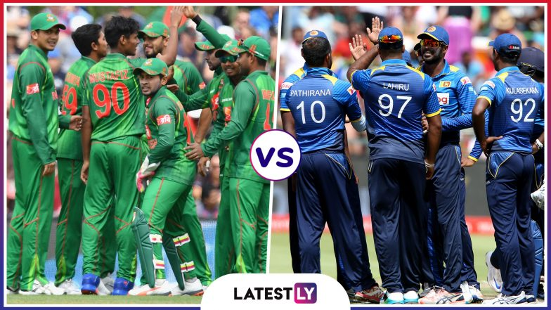 Bangladesh vs Sri Lanka Head to Head Record: Ahead of ICC Cricket World Cup 2019 Clash, Here Are Match Results of Last 5 BAN vs SL Encounters!