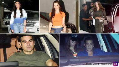 Sohail Khan's Son Yohan's Birthday Bash: Salman Khan, Iulia Vantur, Daisy Shah, Arbaaz Khan, Giorgia Andriani and Others Arrive in Style for the Party! See Pics