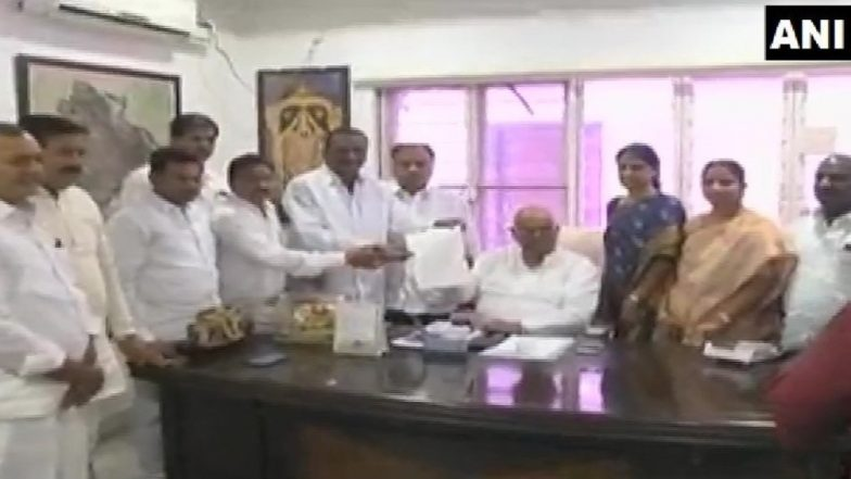 Telangana: 12 Congress Rebel MLAs Meet Speaker Seeking Merger With Ruling TRS