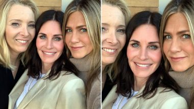 Courteney Cox Celebrates her Birthday with Jennifer Aniston and Lisa Kudrow and Their Friends Reunion is Giving us Happy Tears - View Pic