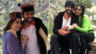 Love Aaj Kal 2: Sara Ali Khan and Kartik Aaryan's Latest Pictures from the Himachal Shoot are Too Cute to Miss
