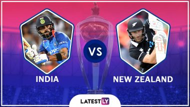 India vs New Zealand, World Cup 2019 Match Called Off Due to Rain