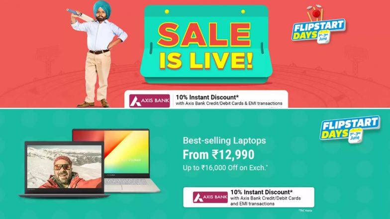 Flipkart Flipstart Days Sale 2019: Best Online Deals on Laptops, Headphones, LED TVs and Speakers