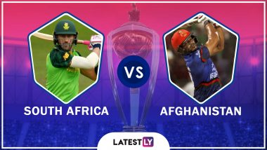 South Africa vs Afghanistan Highlights of ICC Cricket World Cup 2019 Match: SA Beat AFG By 9 Wickets