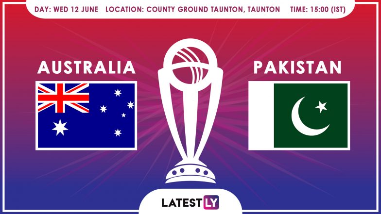 Australia vs Pakistan, ICC Cricket World Cup 2019 Match Preview: Amid Rain Scare in Taunton AUS Look to Bounce Back Against Rejuvenated PAK