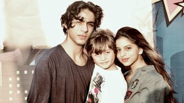 Shah Rukh Khan's Idea of Sugar and Spice & Everything Nice Includes his Kids, Aryan, AbRam and Suhana - View Pic