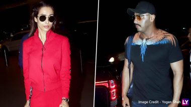 Arjun Kapoor and Malaika Arora Snapped at the Airport, Is the Couple Headed for a Vacation Together?