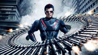2.0 Box Office Colletion in China: Rajinikanth and Akshay Kumar's Film Earns $2.47 Million in Opening Weekend