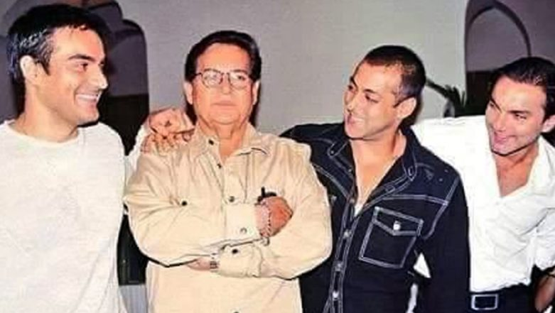 Salman Khan Wishes Father, Salim Khan, a Very Happy Father's Day with this Priceless Throwback Picture