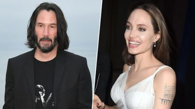 Angelina Jolie Might Want to Date Keanu Reeves and We Are Totally Shipping Them