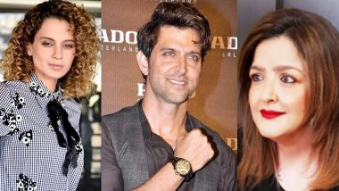 Sunaina Roshan Controversy: Rangoli Chandel Claims That Hrithik's Sister Is Having Suicidal Thoughts