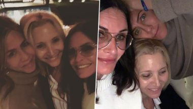 Friends Stars Jennifer Aniston, Lisa Kudrow and Courtney Cox Enjoy a Fun Girls Night With Some Crazy Selfies - See Pics!