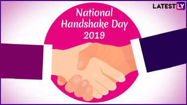 National Handshake Day: From the Itty Bitty Handshake to the Best-Friends One, Here Are the Various Types and What It Says About Your Personality!