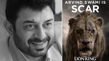 After Siddharth, The Lion King Remake's Tamil Version Ropes in Arvind Swami to Voice for Scar!