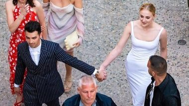 Sophie Turner and Joe Jonas' First Picture from their Pre-Wedding Dinner is Out and It's Gorgeous