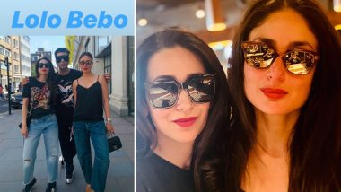Karan Johar Joins Kareena Kapoor Khan and Karisma Kapoor's London Trip - View Pics