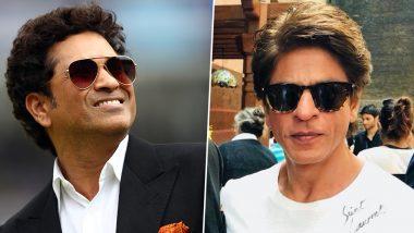 Shah Rukh Khan and Sachin Tendulkar's 'Wear a Helmet' Banter Leaves Mumbai Police Impressed - Read Tweet