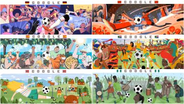FIFA Women's World Cup 2019 Day 2 Schedule Google Doodle Is Beautiful and Informative! Know About Germany vs China, Spain vs South Africa and Norway vs Nigeria Fixtures