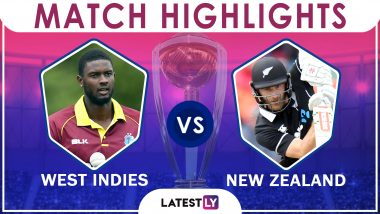 West Indies Vs New Zealand Stat Highlights ICC CWC 2019: NZ Registers 5-Run Win Over WI