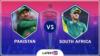 Pakistan vs South Africa Highlights of ICC World Cup 2019 Match: SA Out of Semis Contention, PAK Stay Alive