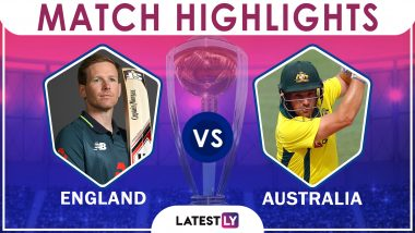 England Vs Australia Stat Highlights ICC CWC 2019: AUS Registers 64 Runs Win Over ENG