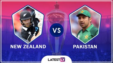 Pakistan vs New Zealand Live Cricket Score of ICC World Cup 2019 Match: Get Live Updates and Ball by Ball Commentary of PAK vs NZ