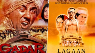 Aamir Khan's Lagaan and Sunny Deol's Gadar Complete 18 Years of its Release and Twitterati Grab the Opportunity to Reminisce These Iconic Movies