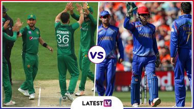 PAK vs AFG Head-to-Head Record: Ahead of ICC CWC 2019 Clash, Here Are Match Results of Last 5 Pakistan vs Afghanistan Encounters!