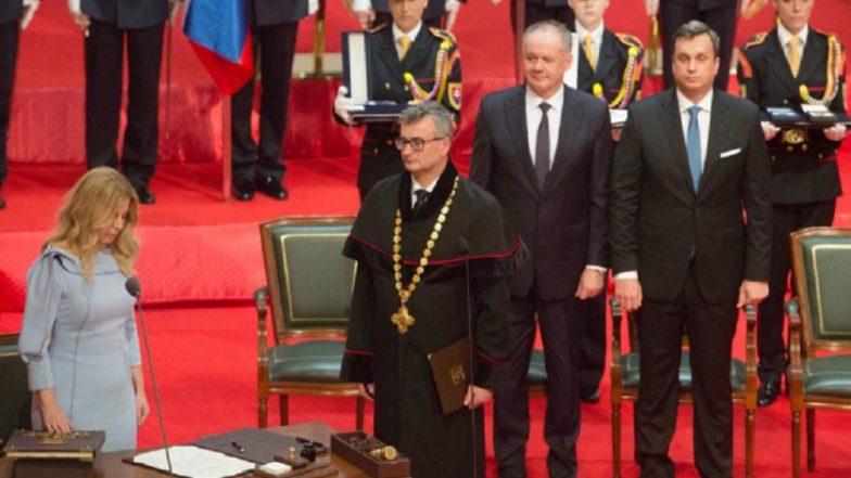 Zuzana Caputova Sworn In As First Female President of Slovakia
