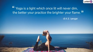 International Day of Yoga 2019: Quotes on Yoga That Will Motivate You to Practice Asanas & Maintain a Healthy Lifestyle
