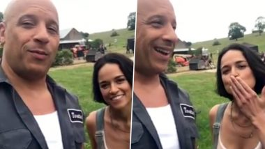 Fast and Furious 9: Vin Diesel and Michelle Rodriguez Begin Shooting, Share a Special Video Message for Fans