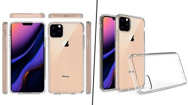 Apple iPhone 11 Max Images Leaked Online Revealing Triple Rear Camera & Narrow Display Notch: View Pics