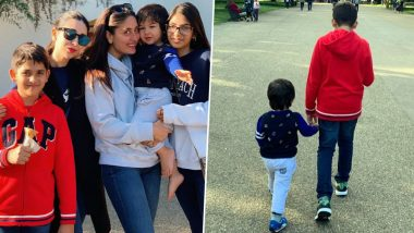Kareena Kapoor Khan and Taimur are Busy Making Some Beautiful Memories with Karisma Kapoor, Samaira and Kiaan in London (View Pics)
