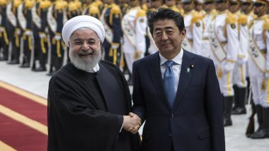 Japanese PM Shinzo Abe Asks Iran to Release American Captives: Report