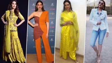 Aditi Rao Hydari, Esha Gupta and Madhuri Dixit Upset the Fashion Police This Week - View Pics