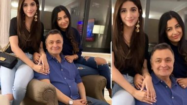 Pakistani Actress Mawra Hocane Visits Rishi Kapoor in New York with her Friend - Check out Pic