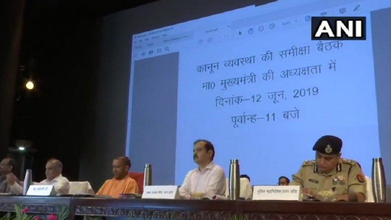 Uttar Pradesh CM Yogi Adityanath Holds Review Meeting on Law and Order Situation in State