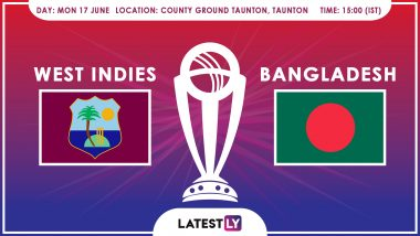 West Indies vs Bangladesh, ICC Cricket World Cup 2019 Match Preview: WI, BAN Aim to Return to Winning Ways
