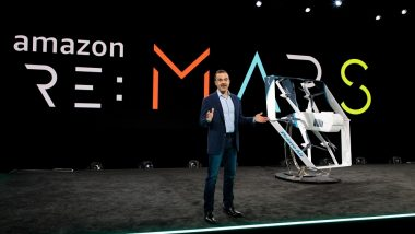 Amazon Unveils New Prime Air Drone at Re: Mars 2019; Will Deliver Packages To US Customer in Less Than 30 Minutes